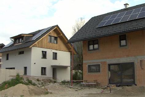 Energiespar-Siedlung in St.Gilgen