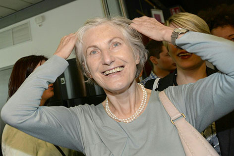 Irmgard Griss bei der Wahlparty