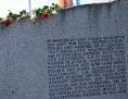 Mauthausen Roma Denkmal Inschrift