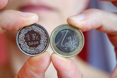 Franken und Euro