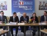 FPÖ Salzburg präsentiert neue Führung