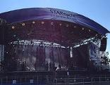Bühne bei Starnacht am Neusiedler See
