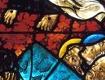 Glasfenster im Stiftskirche Viktring
