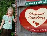 Herzerlweg bei Scheffau