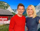 """Jutta Mocuba und Lukas Schweighofer präsentieren von 9. bis 13. Mai erstmals """"Guten Morgen Österreich"""" erstmals aus Oberösterreich aus dem Mühlviertel."""