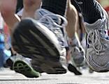 Teilnehmer beim Marathon