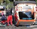 Unfall mit Notarztwagen