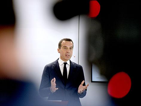 Christian Kern als ÖBB-Vorstandschef im April 2016