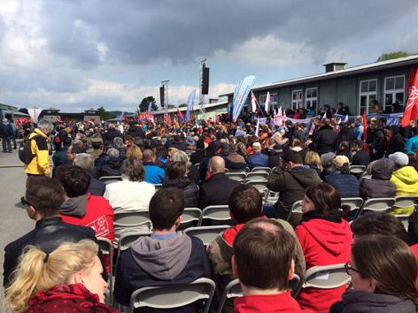 Gedenkfeier Mauthausen