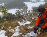 Katastropenschutzübung auf dem Untersberg