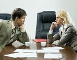Diskussion mit dem Chef