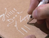 Papier mit Design Papeterie Herzilein