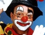 Heinz Zuber als Enrico der Clown