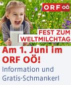 Fest zum Weltmilchtag im ORF