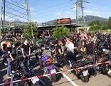 Biker Gedenkminute