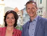 Eva Pölzl und Oliver Zeisberger