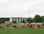 Fußballer trainieren in Bad Tatzmannsdorf