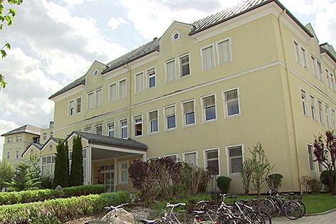 Das Landeskrankenhaus in Tamsweg (Lungau)