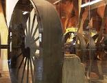 alte Mühlen inne und außen
