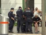 Kontrollen Polizei Hotspots U6