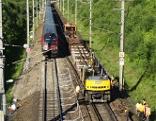Westbahn Reparatur ÖBB Zugentgleisung