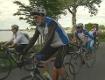 Radtour, Start Chiemsee