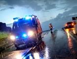Feuerwehr im Unwettereinsatz