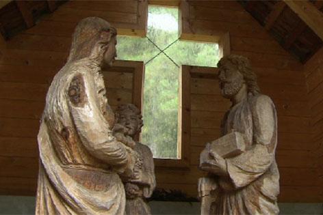 Heilige Familie in der Zirbe