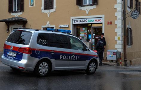 Überfall auf Tabak Trafik in Innsbruck/Hötting