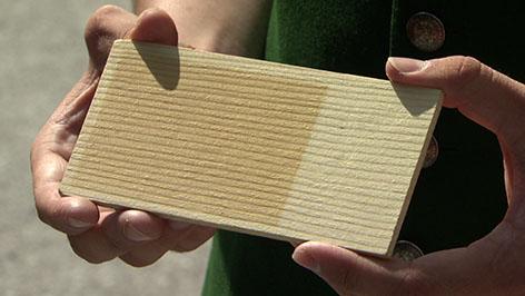 sonnenschutzmittel f r holz entwickelt salzburg. Black Bedroom Furniture Sets. Home Design Ideas