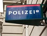 Schild einer Polizeidienststelle