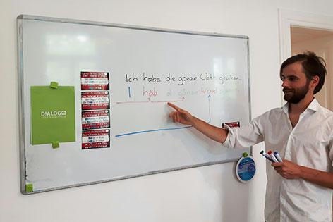 Wiener Dialekttrainer Michael Wiktora