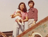 Julia Ha mit Eltern