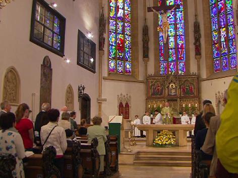 Kirche Gottesdienst Pfarre Graz