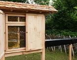 Neues Bienenhaus im Fernsehgarten