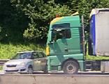 Unfall Westautobahn Gabitunnel Liefering