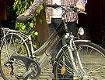 Matthias Jansch und sein Fahrrad