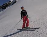 Erstes Schneetraining von Anna Veith nach ihrer Verletzung