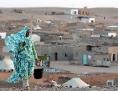Frau im Flüchtlingscamp von Tindouf in der südwestalgerischen Wüste