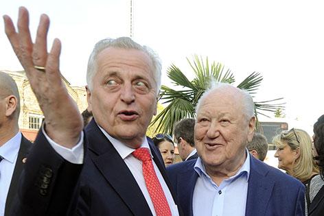 Rudolf Hundstorfer und Karl Blecha