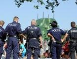 Polizei Donauinselfest