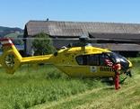 Unfallstelle Seeham und Berndorf