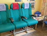Flugzeug-Sessel