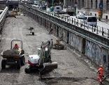 U4 Trasse Sperre Baustelle