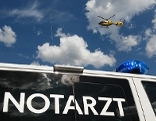 Rotes Kreuz Rettung Hubschrauber