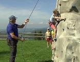 Klettern Kletterwand Sport