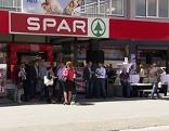 Caritas Projekt Spar Supermarkt Job Arbeitslose
