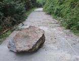 Steinschlag in Aschau