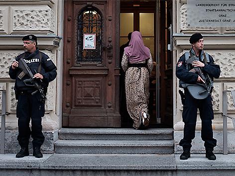 Dschihadistenprozess in Graz