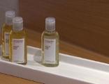 Shampoo-Fläschchen
